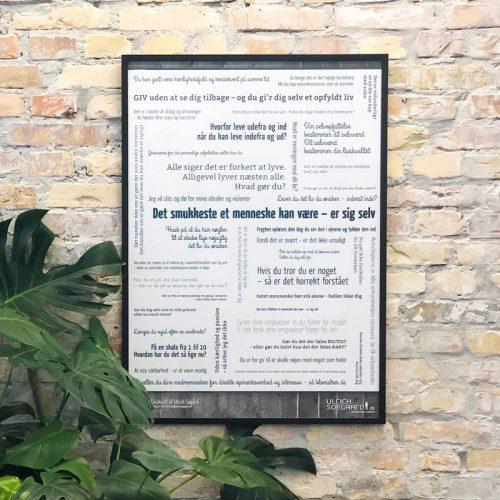 Plakaten 'Livskraft' lavet af Ulrich