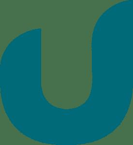 Ulrich Søgårds logo i blå